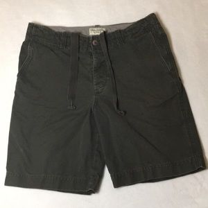 Abercrombie & Fitch Cargo Shorts Size 34 Green
